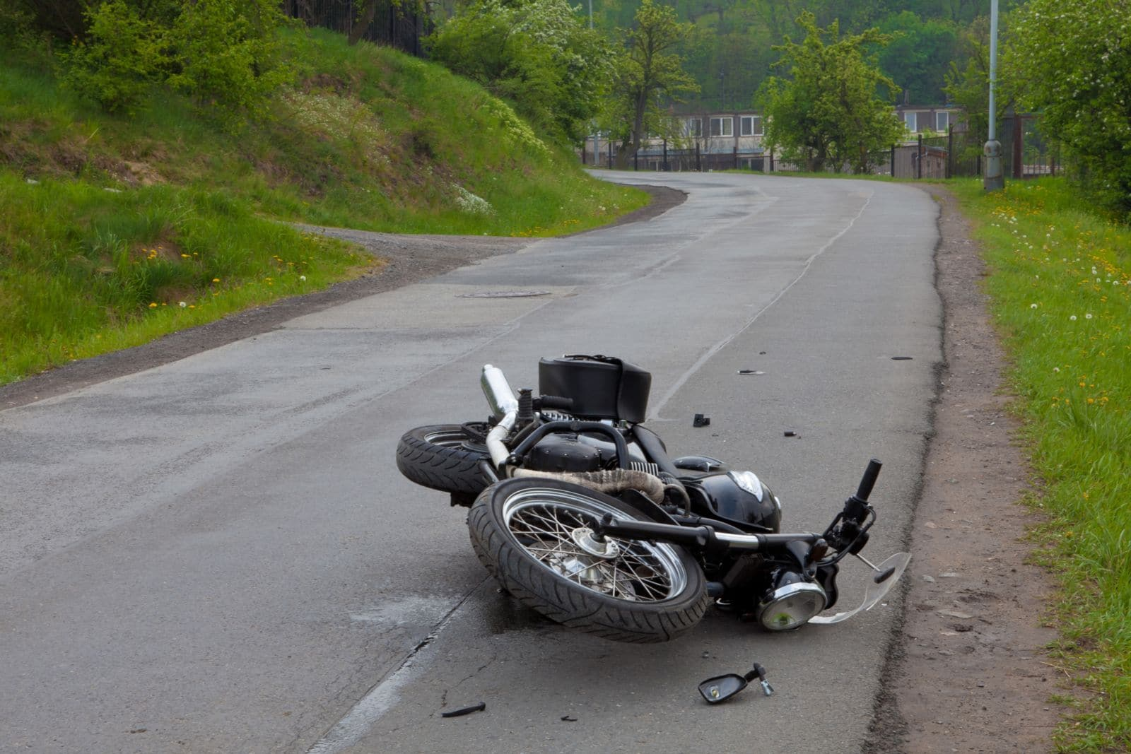 Image result for free pictures motorcycle accident tire remains on road